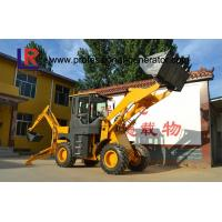 Buy cheap 76kw Heavy Construction Machinery , 2500kg Medium backhoe loader with 1m³ bucket product