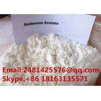 Buy cheap Raw Bulking Cycle Hormone Steroid Boldenone Acetate Powder CAS 2363-59-9 from wholesalers
