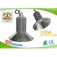 PF0.98 100w Led High Bay Lights CE ROHS Aluminum Heat Sink With Copper Pipe