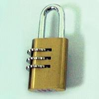 Buy cheap Combination Padlocks Made of Brass and Zinc Alloy product