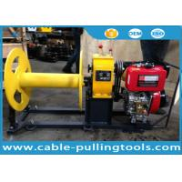 China Cable Pulling Tools 3 Ton Diesel Engine Winch For Pulling Wood on sale