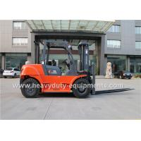 Buy cheap 7000kg Industrial Forklift Truck CHAOCHAI Engine 600mm Load centre product
