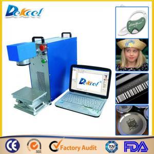 Buy cheap Preço portátil da máquina da marcação do laser da fibra do CNC de Dekcel10W/20W/30w product