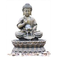 Buy cheap Small Nature Brass Granite Buddha Water Fountain For Home Decor product