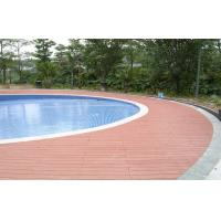 Buy cheap Waterproof WPC Decking Flooring Anti - slip , wood plastic composite panel product