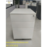 Buy cheap mobile cabinet/Metal Mobile Pedestal with folded lock for office desk workstatio from wholesalers