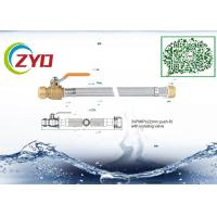 Buy cheap Silver Color Faucet Braided Hose With Push Fit Isolating Valve Eco Friengly product