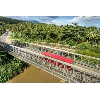 Prefabricated Delta Modular Steel Bridge Easy Assemble Simple Steel Structures