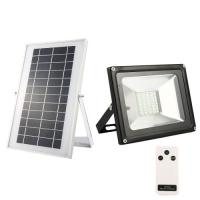Buy cheap 20W Solar flood light 40 LED white light waterproof IP65 rechargeable Energy light with remote control product
