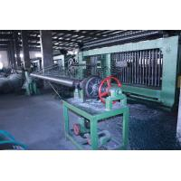Buy cheap Double Rack Drive Gabion Hexagonal Wire Netting Machine 4.2mm Wire product