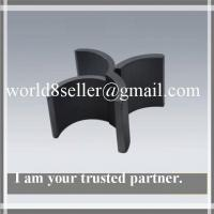 Strong Permanent Magnet Ferrite Magnet Arc Magnets