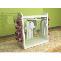 Buy cheap Color Printed Children'S Clothing Display Racks / Baby Clothes Display Stand product