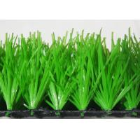 Buy cheap Green High Density Football Artificial Grass Sand And Rubber Infill Custom from wholesalers