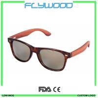 China Cheap 2016 Wooden Sunglasses high quality bamboo temple sunglasses colorful sunglasses wholesale