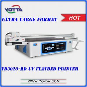 Yotta 3200*1600mm bed size UV flatbed ceramic tiles printer, 3D glass printer, wood board printer