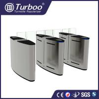 Buy cheap 304 Stainless Steel Office Security Gates With Voice And Strobe Light Alerts product