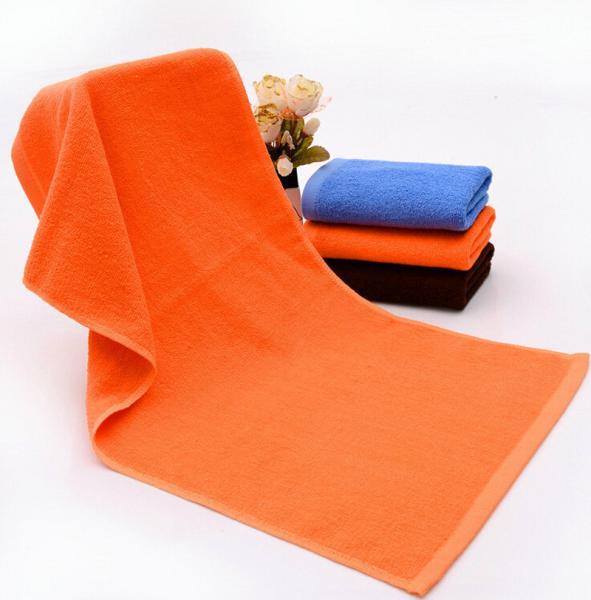 Quality 33*73cm(13''*29'')Hotel Beauty Salon One Color Cotton Face Towel Hand Towel Hair Towel for sale