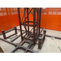 Buy cheap Custom Size Construction Hoist Elevator With Multiple Choices Of Doors product