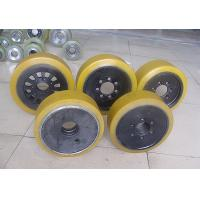 Buy cheap Polyurethane Solid Forklift Tyre from wholesalers