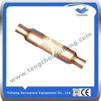 Buy cheap Welding brass braided hose,Flexible Hose,Air conditioner avoiding vibration hose product