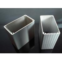 Quality 6063 T5 Silver Anodizing Aluminum Extrusion Profiles for End Caps Aluminum for sale