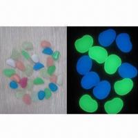 Buy cheap Luminous Cobble Stones, Self-glowing in Darkness, Used for Bosai/Garden and Aquariums product