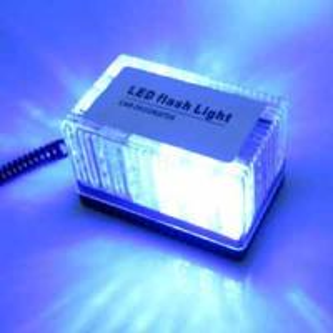 Buy cheap Auto LED Strobe light  cuboid LED emergency warning Lamp blue color product