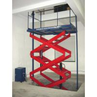 Buy cheap Mobile hydraulic Electric Lifting Platform 3.0KW 300KG for aerial work , decoration product
