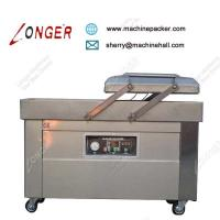 Buy cheap Industrial High Speed Meat Double Chamber Vacuum Packaging Machine Price product