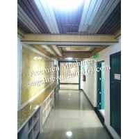 Buy cheap Plastic PVC marble backdrop wall sheet making machine production line product