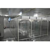 Buy cheap Industrial Laboratory Softwall Clean Room , PC Control Class 1000 Cleanroom product