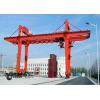 Buy cheap Safety Container Gantry Crane , Rail Mounted Gantry Crane Low Energy Consumption product
