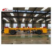 China Heavy Duty Heavy Load Trailers , Chassis Frame Multi Axle Trailer on sale