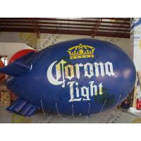 Buy cheap Durable Inflatable Helium Zeppelin , B1 Colorful Fireproof Inflatable Airship product
