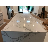 """Buy cheap 125""""×65"""" Polished Quartz Stone Countertops For Home Decoration product"""