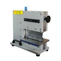 Buy cheap Small Pneumatic PCB Depaneling Equipment V Groove Cutting Machine 2000mm product