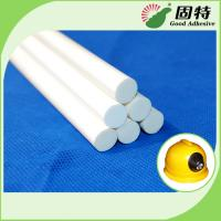 Buy cheap EVA resin Milky white Stick-like solid Viscosity Resin Milk White Hot Melt Glue Sticks High Temperature Resistance product