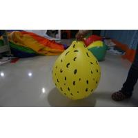 Buy cheap Durable Yellow 90cm Lemon Shaped Balloons With Digital Printing product