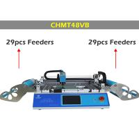 Buy cheap Dual side Feeder CHMT48VB Desktop Pick and Place Machine , surface mounting machine product
