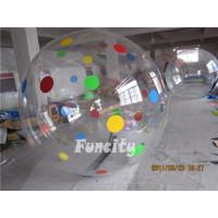 China 0.8mm TPU or PVC Huge Human Sphere Inflatable Walking On Water Ball on sale
