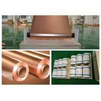 Buy cheap 30 Micron Thickness Copper Shielding Foil 99.95% Purity Good Etch Ability product