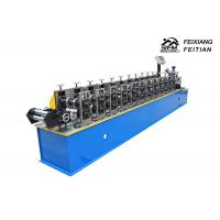 China Galvanized Steel Metal Stud And Track Roll Forming Machine For House Building on sale