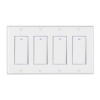 Buy cheap 220V Tuya Touch Screen Dimmer Switch 4 Gang Smart Home Alexa Google Home product