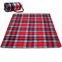 Buy cheap Checkered Portable Beach Mat , Water Repellent Pocket Picnic Blanket product