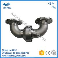 Buy cheap Stainless Steel double elbow flange connection hydraulic water swivel joint product