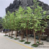 Buy cheap Multi - Wood Combination Artificial Green Maple Tree 2m Height No Crack product