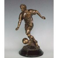 Buy cheap Polyresin Soccer Trophy from wholesalers