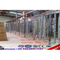Buy cheap Concrete Lightweight EPS Wall Panel Forming Machine GRG / GRC Board Making product