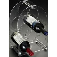 Buy cheap High Quality Beautiful Shape 2 Bottle Acrylic Wine Racks product