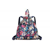Full Printing Foldable Custom Made Drawstring Bags With Adjustable Strap For School for sale
